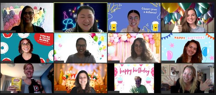 Inpixon Remote Birthday Celebration