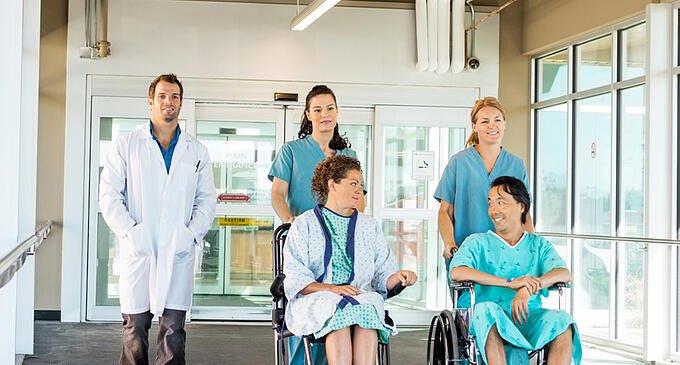 hospital_background