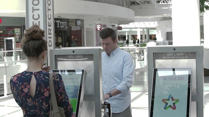 Mall of America Guests Using Express Image and Jibestream Wayfinding Solution