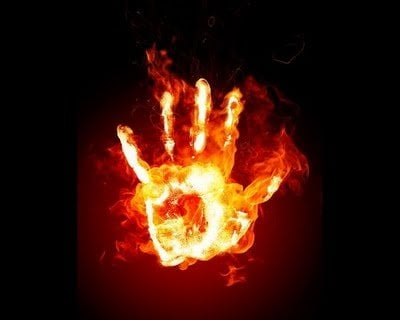fire hadn