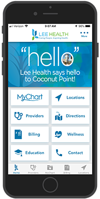 Lee Health Patient & Employee App