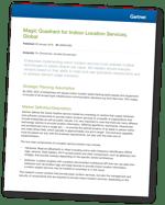 2020 Gartner Magic Quadrant for Indoor Location Services