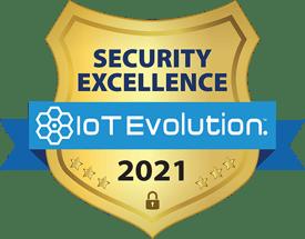 2021 Security Excellence IoT Evolution Award logo