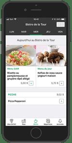 Desjardins Employee App - Culinary Experience