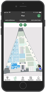 Desjardins Employee App - Location Sharing