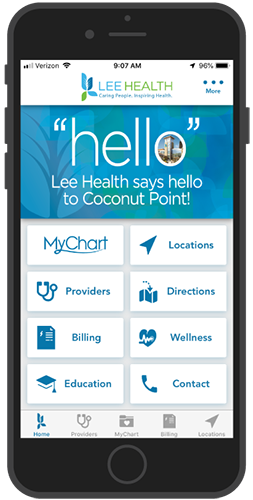 Lee Health Hospital Mobile App
