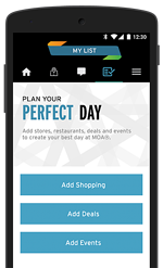 Mall of America Mobile App - Plan Your Perfect Day