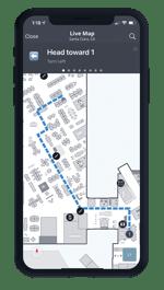 One Workplace Employee App - Wayfinding
