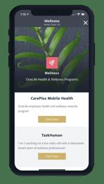 One Workplace Employee App - Wellness